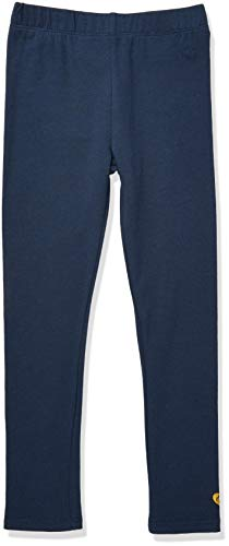 TOM TAILOR Kids Mädchen Placed Print Leggings, Blau (Dress Blue 3043), 128 (Herstellergröße: 128/134)