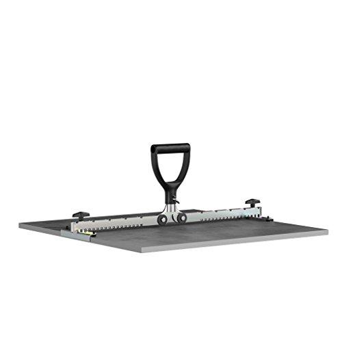 LANGFIT® Fliesenheber mit normalem Griff - 30 bis 62cm - Für schmale Fugen ab 3mm - Tragkraft bis 30kg - Made in Germany - MS-FH2062K