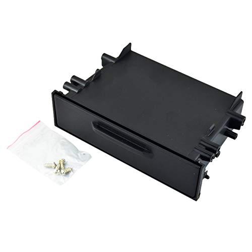 Ashley GAO Universal coche auto solo Din Radio Pocket Kit instalación Dash 1 caja de almacenamiento coche para Toyota