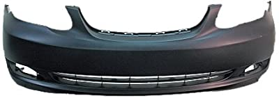 Sherman Replacement Part Compatible with Toyota Corolla Front Bumper Cover (Partslink Number TO1000297)