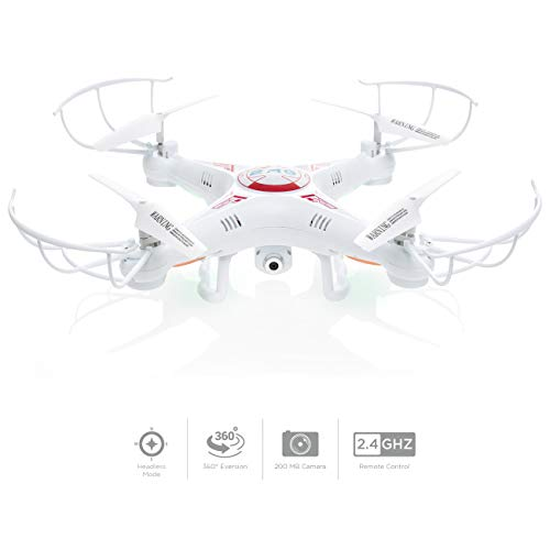 Best Choice Products RC X5C-1 Quadcopter Drone Toy w/ HD Camera, 360-Degree Flipping, 6-Axis Gyroscope, LED Lights