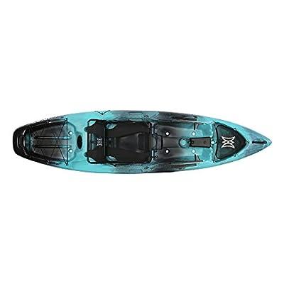Perception Kayaks Unisex's Pescador Pro Fishing Kayak, Dapper, 10'