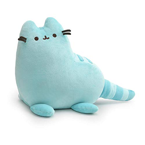 GUND Pusheen Dinosaur Plush Stuffed Animal Cat, Blue, 9
