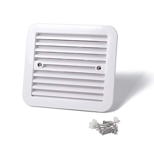 Auto-onderdelen 12 V White Air Vent, met Fan RV Trailer Caravan Mute Side Air ventilatie, geschikt voor RV's etc.