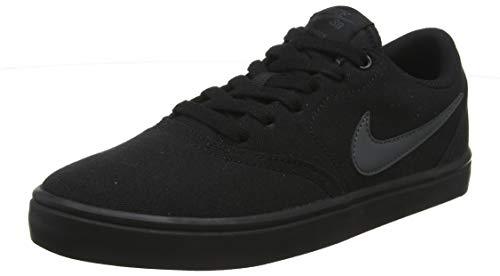Nike Mens NIKS SB Check Solar CNVS Black Anthracite Size 5.5