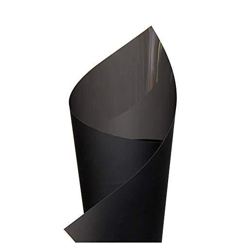 Nvfshreu A4 patroon zelfklevende holografische projectie-materiaal raamfolie sticker 21 cm eenvoudige stijl X 29 7 cm donkergrijs A4