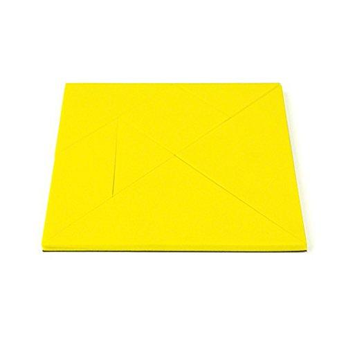 Plezier met magneten geel educational Tangram – Logic puzzel & wiskunde spel (10 stuks)