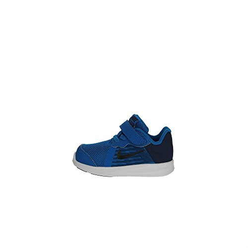 Nike Jungen Unisex Kinder Downshifter 8 (TDV) Hausschuhe, Blau (Blue Nebula/Dark OBS 401), 19.5 EU