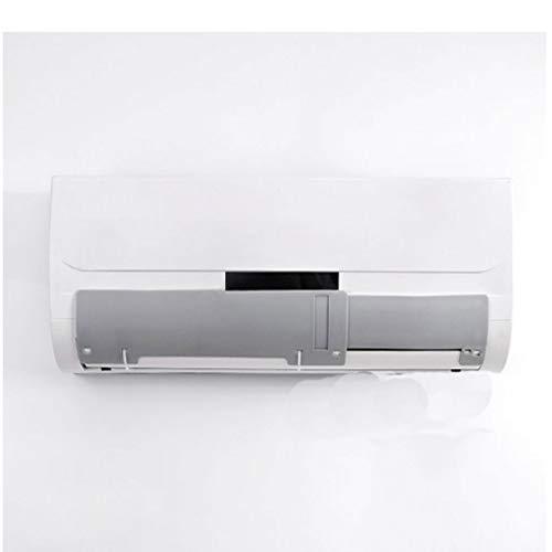 SPARROW On-Hook condizionatore Parabrezza Anti-Diretta Presa Scudo Guida soffia Parabrezza Vento Parabrezza climatizzazione Universale climatizzazione deflettore deflettore (Color : Gray)