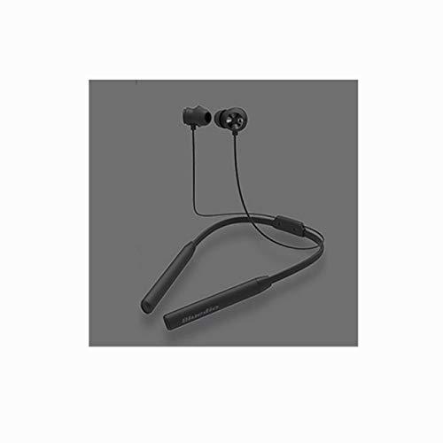 Auriculares con cancelación activa de ruido, auriculares inalámbricos con banda para el cuello Bluetooth V4.2, tapones para los oídos impermeables en la oreja, estéreo magnético de alta fidelidad,