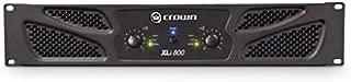 Crown XLi800 Two-channel, 300W at 4Ω Power Amplifier (Renewed)