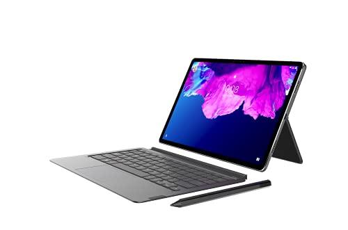 Lenovo Tab P11 Pro Tablette tactile 11.5' OLED (Qualcomm Snapdragon 730G 8 Coeurs, 6 Go de RAM, 128 Go de stockage, WiFi, Android 10) + clavier et Lenovo Precision Pen