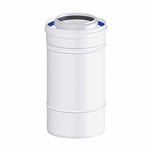 TEN tolerie - Rallonge de Ventouse condensatoire (Longueur : 0.25M - D.80/125)