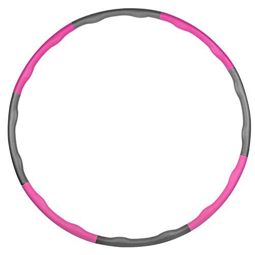 aoory Hula Hoop Serie Zur Gewichtsreduktion Reifen Mit Schaumstoff 1200 G Gewichten Beschwerter Hula Hoop Reifen Für Fitness