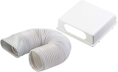 Sichler Exclusive Zubehör zu Klima-Geräte: Frischluft-Schlauch-Set für Monoblock-Klimaanlage ACS-90 (Kompakt-Klimagerät)