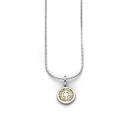 """DUR Damen Kette\""""Kompass\"""" aus 925er Silber Länge ca. 420 MM K2383"""
