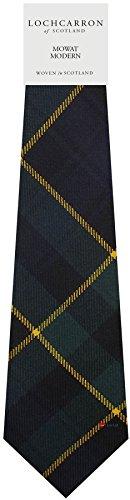 I Luv Ltd Gents Neck Tie Mowat Modern Tartan Lightweight Scottish Clan Tie