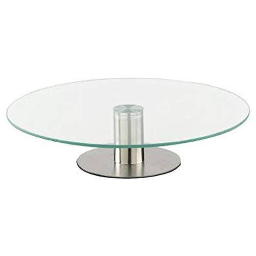 Paris Prix Secret de Gourmet - Plateau Tournant Verre Glass 30cm Transparent