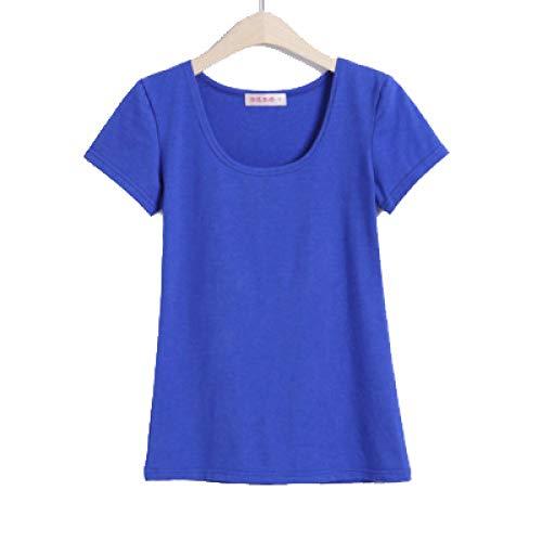 XIEPEI Camisetas con Cuello en U para Mujer Camisetas de Manga Corta con Estiramiento tecnológico y Tops Camisas para Correr para Mujeres