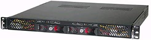 KRI 1U CK1220 for Dual Mini-ITX MB, Two 250W PSU Included