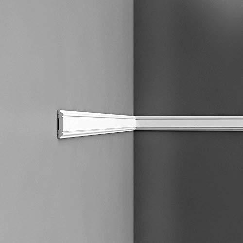 Perfil de estuco Moldura Cornisa Orac Decor PX144 AXXENT Elemento decorativo para pared y techo 2 m