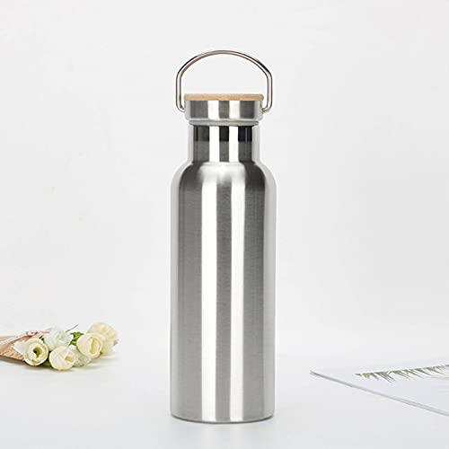El nuevo grado alimenticio de acero inoxidable de gran capacidad al vacío frasco de leche taza de té taza de café adultos niños deportes al aire libre botella de agua
