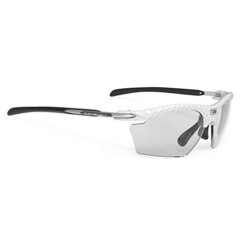 Rudy Project Rydon Slim Brille White carbonium - impactx photochromic 2 Black 2021 Fahrradbrille