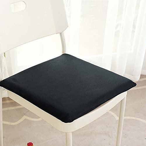 ANBEN Juego de 4 alfombrillas de jardín acolchadas para silla de comedor, silla de patio, silla de sofá, 40 x 40 x 5 cm, 4 unidades