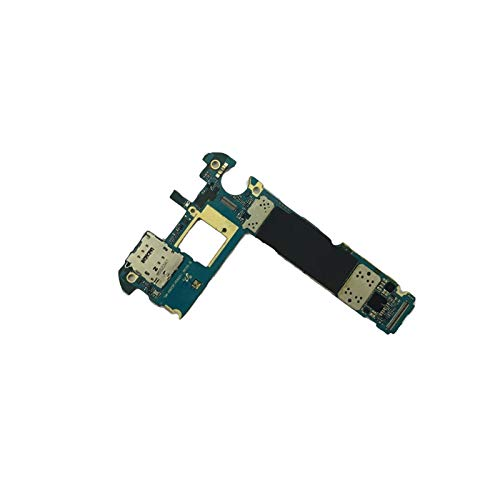 RKRXDH Mobiltelefon-Mainboard Fit for Samsung Galaxy S6 Edge G925F Motherboard Mit OS-System, Original Unlocked Fit for Samsung S6 G925F-Mainboard Motherboard-Ersatz für