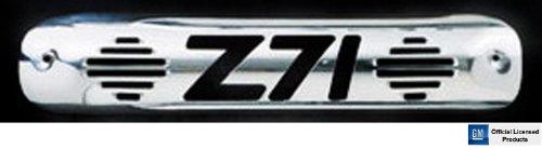 All Sales 94010P Polished Billet Aluminum Third Brake Light Cover - Z71 Logo