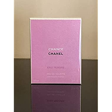 Chanel Chance for Women Eau de Toilette Spray, 3.4 Ounce