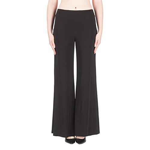 Joseph Ribkoff Black Flaire Pants Style - 161096U Collection 2019 (18)