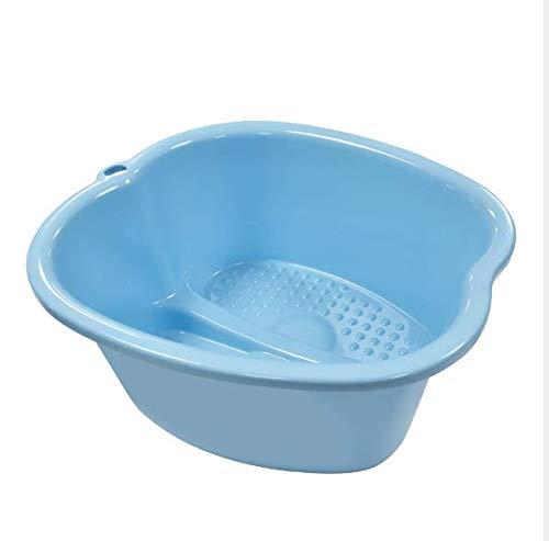 Spa para bañera de pies, spa de agua y masaje de pies, lavabo de plástico resistente para remojar pies, uñas de los dedos y tobillos, pedicura, bañera portátil para pies