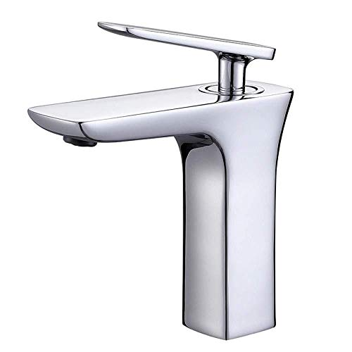 Grifo de lavabo con ranura para lavabo, grifo de agua fría en caliente, mezclador de lavabo, fregadero de latón fundido por gravedad, agujero único europeo cálido y frío bajo el lavabo, lavado facial, grifo de lavabo de cobre fino 2