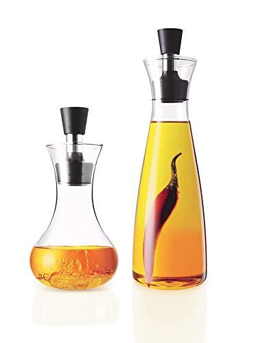 EVA SOLO Set Dressing-Shaker und Öl oder Essig Karaffe
