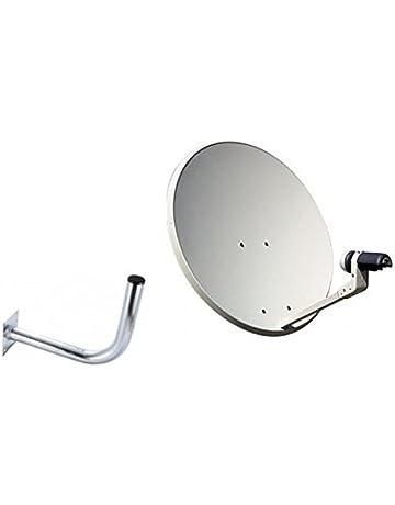Antena parabólica de 60cm con LNB y Soporte de Tecatel ...