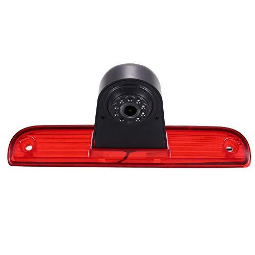 Dynavsal 【Super HD Rückfahrkamera mit Bremsleuchte】 Wasserdicht Nachtsicht 170°Super Weiter Betrachtungswinkel für FIAT Ducato X250 X290 Bus Kasten/Peugeot Boxter/Citroen Jumper/Transporter Van