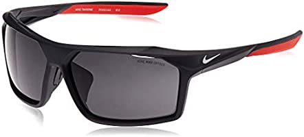 Nike EV1032-010 Traverse Sunglasses (Frame Dark Grey Lens), Matte Anthracite/White