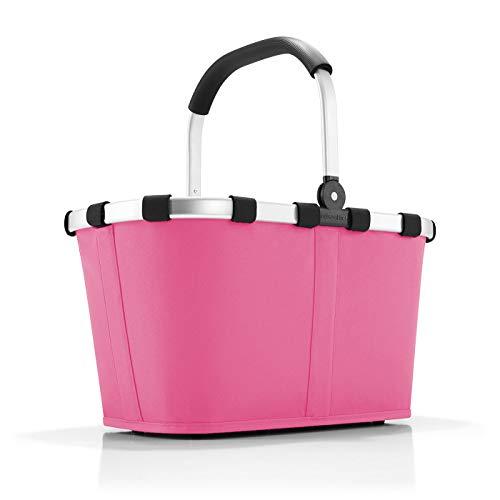 reisenthel carrybag Einklaufskorb 48 x 29 x 28 cm, 22 Liter (pink)