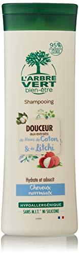L'arbre vert Shampooing Douceur pour Toute la Famille 250 ml - Lot de 3