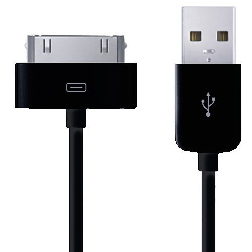 Xtra-Funky - Cavo dati e caricatore USB di alta qualità, per dispositivi Apple quali iPhone 4, 4G, 4S, 3GS, 3G,/iPod Touch 2a, 3a, 4a gen./iPad 1, 2/iPod Classic, Nano, Mini, Shuffle