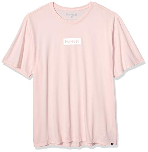 Hurley Men's Dri-fit Box Logo Short Sleeve Tshirt