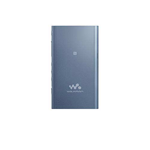 Sony NW-A55LLWalkman (16 GB, Hi-Res, Touch Screen, Bluetooth, NFC, microSD-Slot, Vinyl Processor), blau