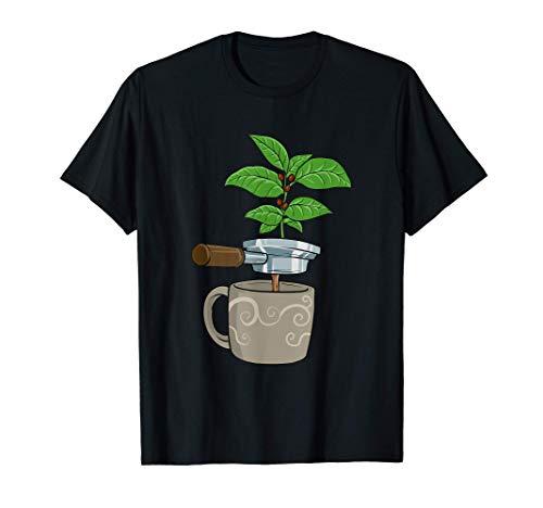 Máquina de café expreso para el bebedor de café Camiseta