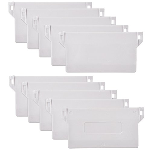 10 Stück 89 mm (3,5 Zoll) Vertikale Blind Weiß Bottom Weights Lamellen