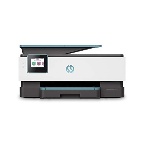 HP OfficeJet Pro 8025 Multifunktionsdrucker (HP Instant Ink, A4, Drucker, Scanner, Kopierer, Fax, WLAN, LAN, Duplex, HP ePrint, Airprint, mit 2 Probemonaten HP Instant Ink Inklusive) Oasis