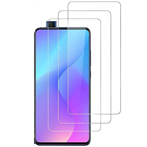iGlobalmarket (Pack 3 Unids) Protector Pantalla para Xiaomi Mi 9T   Mi 9T Pro Redmi K20, Vidrio Cristal Templado, dureza 9H, sin Burbujas, antiarañazos