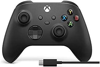 Control Inalámbrico Xbox + Cable USB-C (compatible con Xbox Series y Xbox One) - 9a Generación - Standard Edition