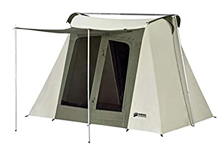 Kodiak Canvas Flex-Bow Deluxe 8-Person Tent.