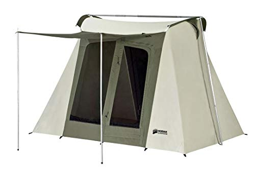 Kodiak Canvas Flex-Bow Canvas Tent Deluxe 10 ft x 10 ft...